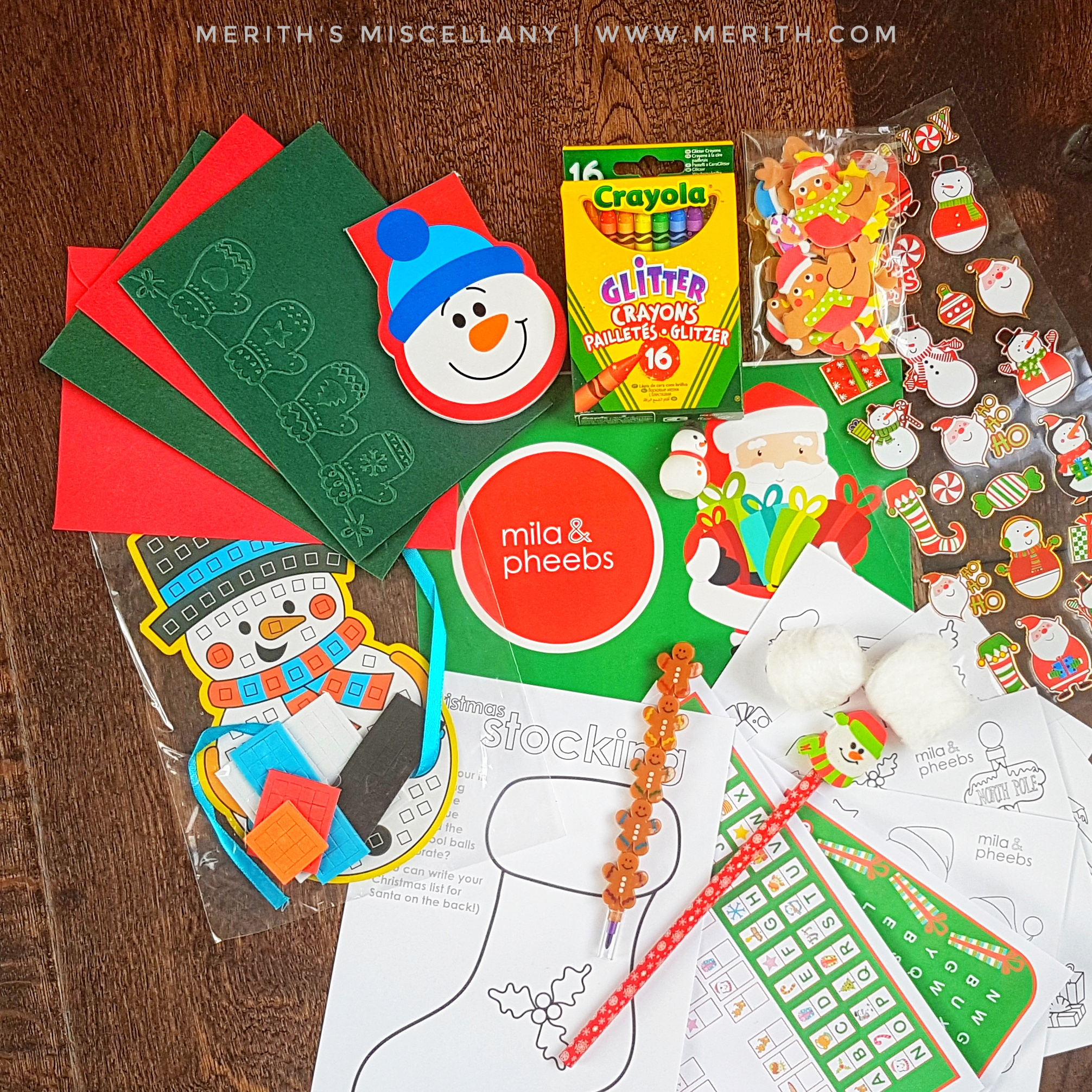 Review: Mila & Pheebs – The Christmas Box 2017 Stationery