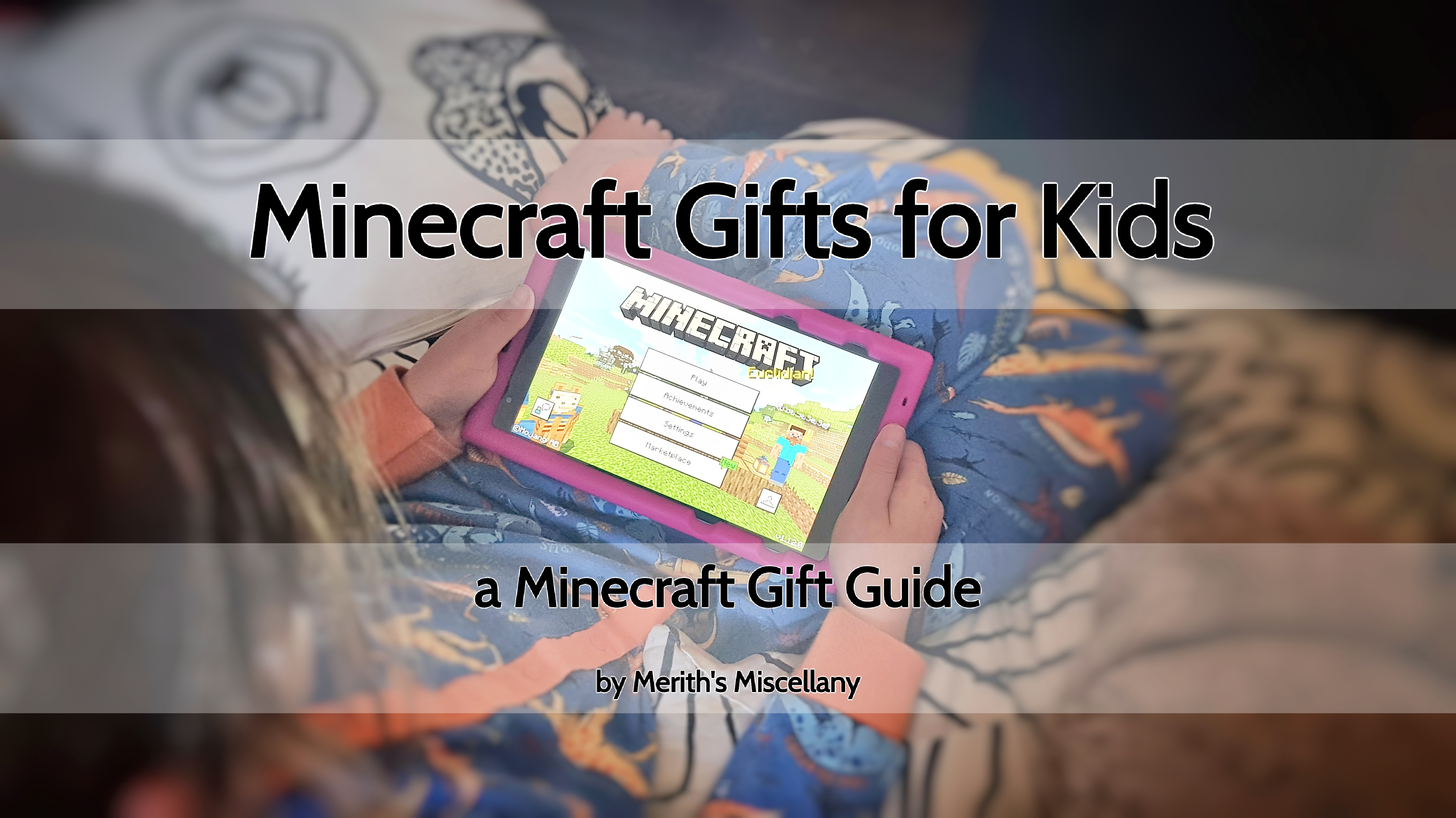 Minecraft Gifts For Kids Merith S